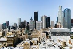洛杉矶市看法  库存照片