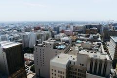 洛杉矶市看法  免版税库存图片