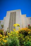 洛杉矶摩门教LDS寺庙加利福尼亚 库存照片