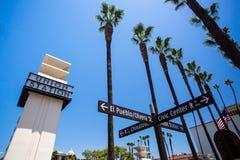 洛杉矶联合驻地外部 免版税库存图片