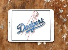 洛杉矶道奇棒球队商标 免版税库存图片