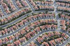 洛杉矶郊区邻里天线 图库摄影