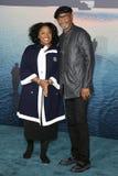 洛杉矶首放的LaTanya里查森和森姆・L・积逊母亲和孩子,埃及剧院,好莱坞, CA. 04-19-10 杰克逊 免版税库存图片