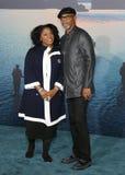 洛杉矶首放的LaTanya里查森和森姆・L・积逊母亲和孩子,埃及剧院,好莱坞, CA. 04-19-10 杰克逊 免版税图库摄影