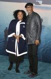 洛杉矶首放的LaTanya里查森和森姆・L・积逊母亲和孩子,埃及剧院,好莱坞, CA. 04-19-10 杰克逊 免版税库存照片