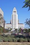 洛杉矶香港大会堂,街市市中心 库存照片