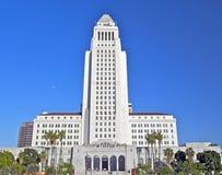 洛杉矶香港大会堂,街市市中心 免版税库存照片