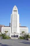 洛杉矶香港大会堂,街市市中心 免版税库存图片