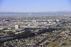 洛杉矶高速公路 免版税库存图片