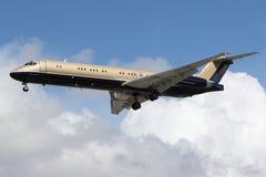 公司航空藏品麦克当诺道格拉斯公司MD-87 (DC-9-87) 图库摄影