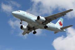 加拿大航空空中客车A319-114 库存照片