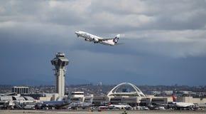 阿拉斯加航空公司波音737-890 库存照片