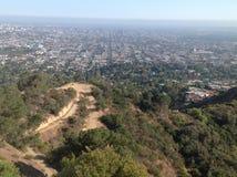 洛杉矶,美国全景  库存照片