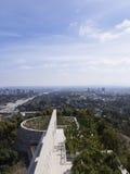 洛杉矶从格蒂中心观看了 库存照片
