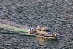 洛杉矶水警艇口岸  免版税图库摄影