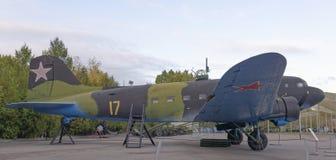 李2军事运输航空器(1936年苏联购买执照为 免版税库存图片