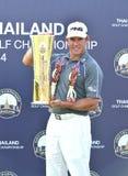 李・维斯特伍德获得泰国高尔夫球冠军2014年 库存图片
