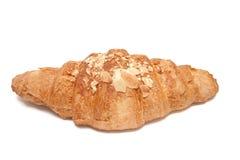 杏仁新月形面包 库存图片