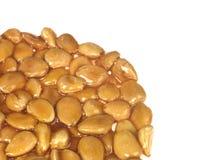 杏仁蜂蜜牛乳糖轮子 免版税库存图片