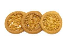 杏仁酸和那么甜风味曲奇饼 库存图片