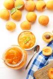 杏子果酱 库存照片