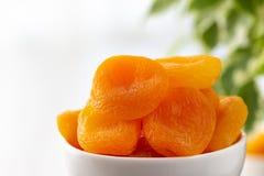 杏子碗烘干了 免版税图库摄影