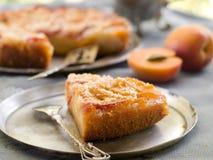 杏子蛋糕 图库摄影