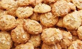 杏仁饼。 免版税库存照片