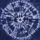 材料被洗染的蜡染布 Shibori 免版税库存图片