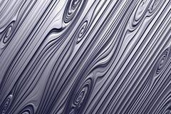 材料铝,镀铬物,钢,金属 木纹理 向量例证
