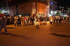 2015年村庄万圣夜游行第4部分36 库存图片