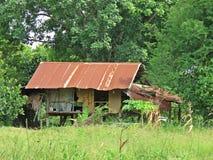 村庄不同地被修造-泰国农夫 库存照片
