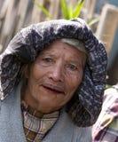 村庄人弗洛勒斯印度尼西亚 免版税库存图片