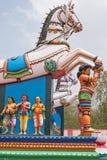 村庄保护在泰米尔纳德邦 免版税库存照片
