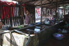 村庄公共浴室 免版税图库摄影