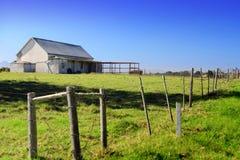 村庄农场 库存图片