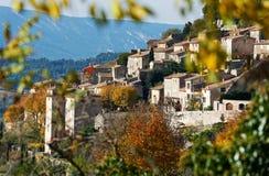 村庄博尼约在普罗旺斯 免版税库存图片