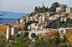 村庄博尼约在普罗旺斯 库存图片