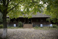 村庄博物馆在布加勒斯特 免版税图库摄影
