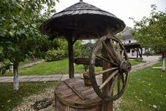 村庄博物馆在布加勒斯特 免版税库存照片