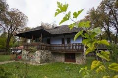 村庄博物馆在布加勒斯特 免版税库存图片