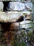村庄喷泉 库存照片
