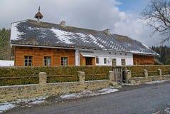 村庄在春天 免版税库存图片
