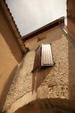 村庄在法国 免版税库存照片