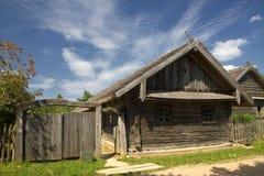 村庄在白俄罗斯 免版税库存图片