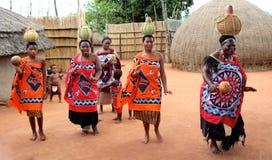 村庄妇女 库存图片