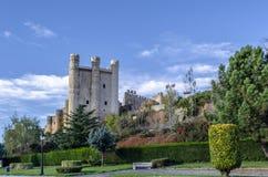 村庄巴伦西亚唐璜的城堡 图库摄影