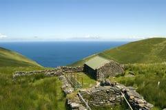 村庄幽谷爱尔兰半岛 免版税库存照片
