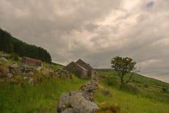 村庄废墟 库存图片