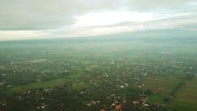 村庄房子鸟瞰图在日惹 影视素材